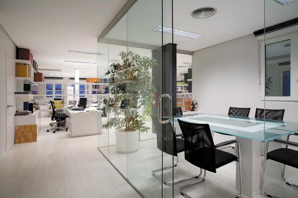 Reforma Oficinas Construcciones Brillas Agusti